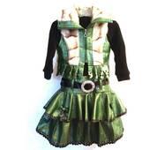 Костюм 2-ка платье и жилетка на девочку 4, 5 лет