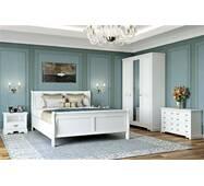 Біла спальня Луї Філіпе з масиву дерева