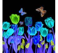 """Салфетки  ТМ """" La Fleur""""  ЗЗхЗЗ,  2 слоя """"Цветы под окном"""" 20шт."""