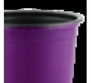 Горшок TEKU 0,29л 9x6,8см фиолетовый