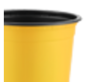 Горшок TEKU 0,46л 10,5x8,2см желтый
