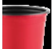 Горшок TEKU 0,29л 9x6,8см красный
