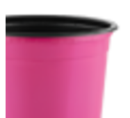 Горщик TEKU 0,29л 9x6,8см рожевий