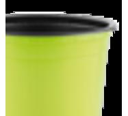Горшок TEKU 0,29л 9x6,8см салатовый