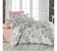 """Двухспальное постельное белье из бязи голд""""цветы хризантемы"""""""
