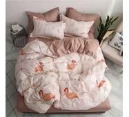"""Двухспальное постельное белье из бязи голд"""", Фламинго"""""""