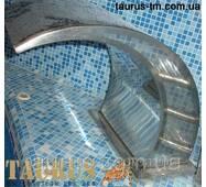 Водоспад у басейн Classic (масажер для плечей і спини) з полірованої нержавіючої сталі. Виробництво TAURUS 600