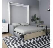 Шкаф-Кровать-Диван MIRA SOFA 160 с подлокотниками