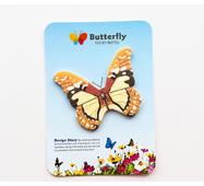 STK Стикеры Метелики коричневий