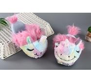 STK Тапочки-игрушки Единороги женские