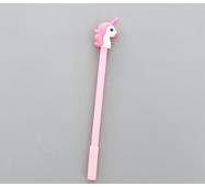 STK Ручка гель Одноріг рожевий