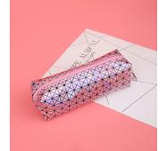STK Пенал голограма рожевий, трикутник
