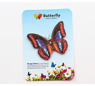 STK Стикеры Метелики синьо-коричневий