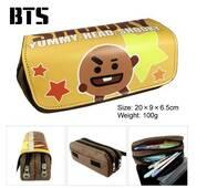 STK Пенал BTS BT21 БТС Бантаны K - POP Вередливий Шуки, створений Шугою, Юнги