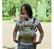 Эрго рюкзак Світ навколо бежевый Лисята