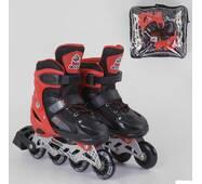 Ролики 40082-S Best Roller /размер 30-33/ цвет - КРАСНЫЙ
