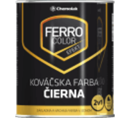 Краска Chemolak Ferro Color ковальская черная 2,5л. RAL 7024