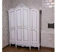 Деревянный шкаф для одежды Моника Барокко стиль 4х дверный