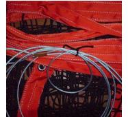 Трос для натягу сітки металевий