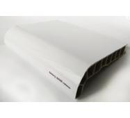 Підвіконня ПВХ  Sauberg  100х1000 ламінація  глянець білий