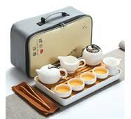 Набор для чайной церемонии Гунфу Ча дорожный из 15 предметов