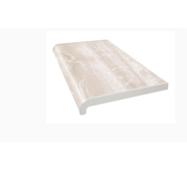Подоконник ПВХ  WDS   400х1000 ламинация  белый дуб