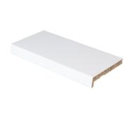 Підвіконня ПВХ  Rif 400х1000 білий сатин