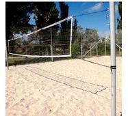 Стійки пляжного волейболу з гачками на розтяжках