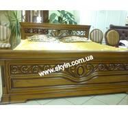 Кровать Эдельвейс из массива дерева