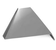 Отлив оконный наружный металлический оцинкованный Profi полка 150мм*1000мм*0,45мм цвет антрацит