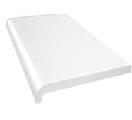 Підвіконня ПВХ  WDS  400х1000 білий глянець