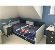 Детская,подростковая кровать Сити с выдвижными ящиками