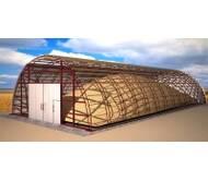 Монтаж металоконструкцій, виробництво зерносховищ, ангарів, свиноферм