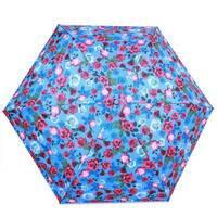 TRC Складана парасолька Fulton Парасолька жіноча компактна полегшений супертонкий механічний FULTON FULL553 - English - rose