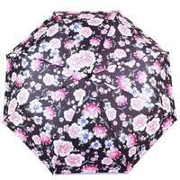 TRC Складана парасолька Fulton Парасолька жіноча компактна механічний FULTON FULL354 - Scetched - bouguet