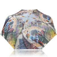 TRC Складана парасолька Trust Парасолька жіноча компактний полегшений механічний TRUST ZTR58475 - 1619