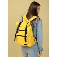 Рюкзак ролл Sambag унисекс RollTop LTT жовтий