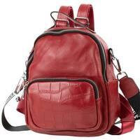 TRC Сумка-рюкзак Vito Torelli Рюкзак жіночий шкіряний VITO TORELLI VT - 6-580 - red
