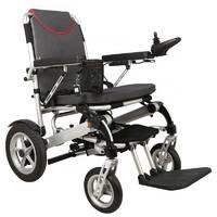 Доладна електроколяска для інвалідів MIRID D6034. Складається за допомогою пульта.
