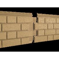 Фасадные панели Stone Housе S-Lock Клинкер, цвет: Горьчичный