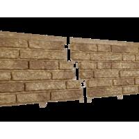 Фасадні панелі Stone House Кварцит, колір: Темно-бежевий