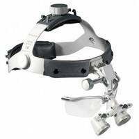 Бинокулярная лупа Heine на шлеме с защитным щитком (2,5х/520мм) С-000.32.367 Медаппаратура