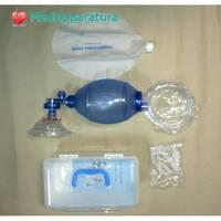 Ручной ИВЛ реанимационный мешок для взрослых Автоклавируемый  (мешок амбу для взрослых)