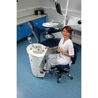 Медичний столик Панок 4 овальний з акрилом Медаппаратура