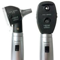 Комплект офтальмоскоп HEINE mini 3000+отоскоп HEINE mini 3000 F.O. с акумул. та заряд. прист. mini NT