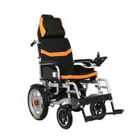 Доладна інвалідна електроколяска MIRID D6036C (знімний підголовник). Літієва батарея - 20Ач.