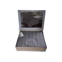 Покрывало Maison Dor Lacene Antrasit хлопок 250-260 см темно серое