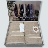 Набор полотенец Maison D'or Alain Beige махровые 30-50 см,50-100 см,70-140 см бежевый