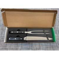 Кухонный набор - нож 33,5см и вилка 31,5см / 6596К