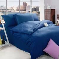 Підлітковий комплект постільної білизни Синій Преміум